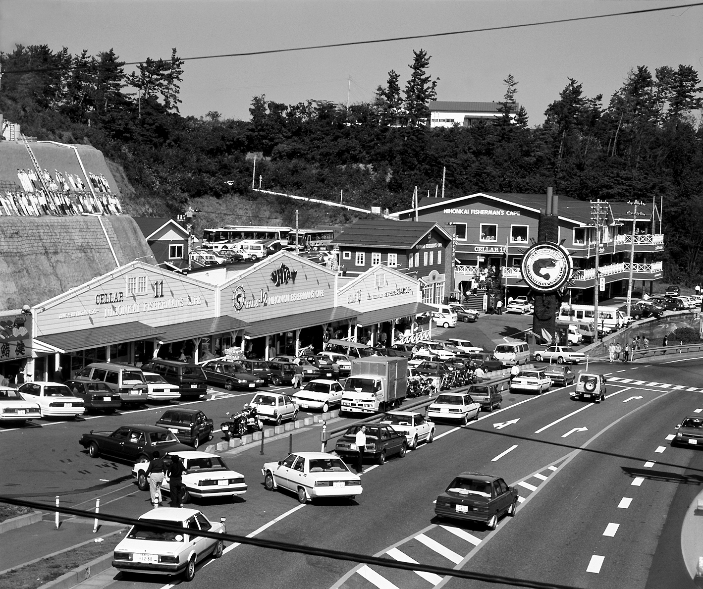 日本海沿いに立地した日本海鮮魚センター