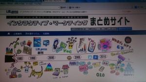 2015年9月25日にオープンした「インタラクティブ☆マーケティングまとめサイト」
