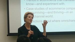 Ruth P. Stevensさんは米国Direct Marketing Associationなどでの講演のほか、米国コロンビア大学、ニューヨーク大学でも教鞭をとった経験をお持ち。受講者の反応を見ながらのわかりやすいプレゼンテーションには定評がある。
