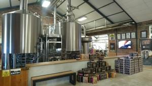 地ビールのメーカーである「CAPE BREWING CO」では、4種類の地ビールの試飲がR 30(約255円)。グラスは小さめながら、アルコール度数が強いのか、結構酔っ払う。